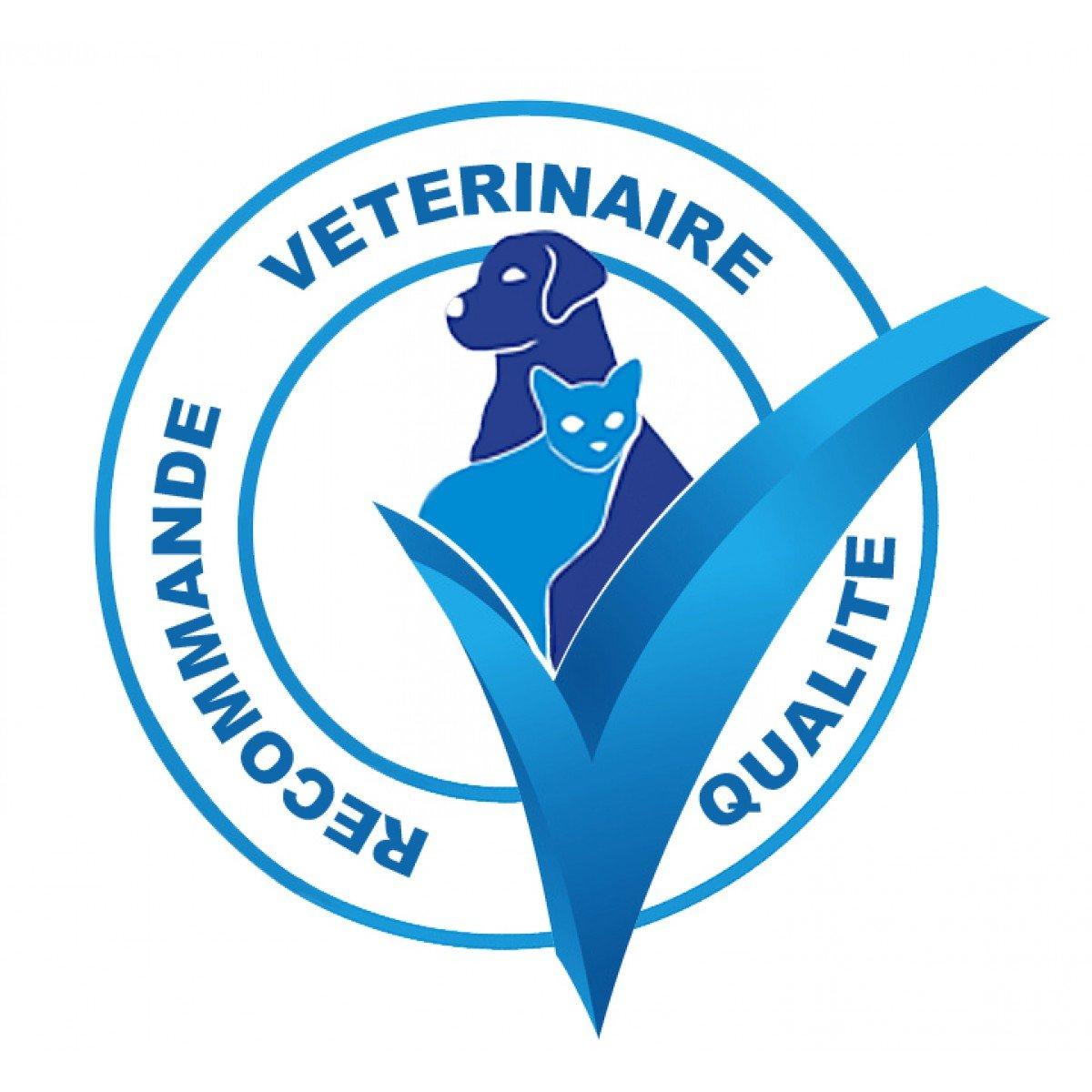 """Résultat de recherche d'images pour """"logo recommandé par les vétérinaires"""""""